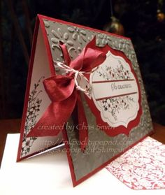 Looks like gingerbread. Like the stamping inside the card.     So Grateful by inkpad - Cards and Paper Crafts at Splitcoaststampers