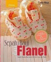 Buku Sepatu Bayi dari Flanel Fitri Gaity