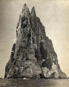 Summiting Ball's Pyramid in 1965