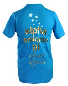 Our Sibs Weekend shirt! Omega Upsilon!
