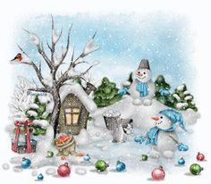 muñecos de nieves encontrdas en la web