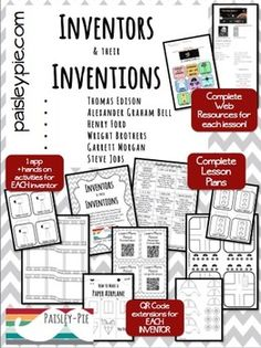 Inventors and Their Inventions: Web Based Project