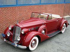 1937 Packard Eight Convertible