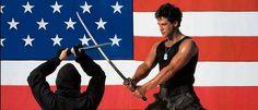 """Feierabend und Bock auf nen Film? Schaut euch die 80er Trashperlen """"American Ninja 1+2"""" bei uns auf dem Blog an! Michael Dudikoff, Ninja whaaat!  http://www.runffm.com/2013/08/american-ninja-80er-trashfilme-mit-michael-dudikoff-stream-fotos/  #trash #80s #film"""