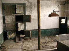 Abandoned Morgue; Ellis Island, New York