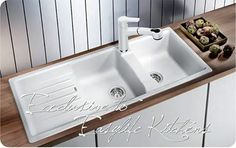 From handcrafted STEELART stainless steel sinks, and the natural warmth and beauty of SILGRANIT/ BLANCO products are celebrated worldwide for their quality Kitchen Sink, Kitchen And Bath, Sink, Home Kitchens, Double Bowl Sink, Bath Appliances, Stainless Steel Sinks, Home Decor, Freestanding Taps