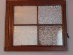 old window in my room, that I made.