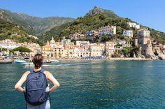 Cetara, a small fishing village in the Amalfi Coast