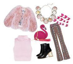 """""""Roze"""" by lejlafazlic ❤ liked on Polyvore featuring Alice + Olivia, Florence Bridge, Paolo Costagli and Skinnydip"""