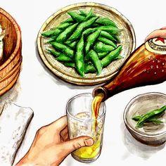 . Drink Beer, Pickles, Green Beans, Cucumber, Vegetables, Food, Essen, Vegetable Recipes, Meals