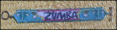Designed and beaded this for a family member that is great at Zumba. Used 2 Android apps for tablets: iBeadBanner and iBeadBPix.