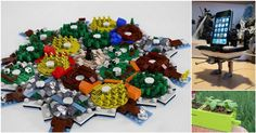 LEGO: it's not just for stepping on anymore. Rather than building pirate ships and space shuttles, these ingenious ideas show you how to use LEGO as an adult.