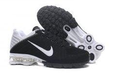 8a851fa91f Nike Air Shox Flyknit Black White Shox R4 Men's Athletic Running Shoes Nike  Shox, Air