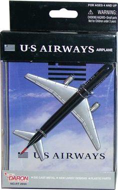 US Airways Boeing 757 Toy Aircraft