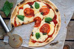 Пицца Маргарита, пошаговый фото рецепт, кулинарный блог andychef.ru