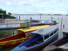 Suriname, Waterkant -Paramaribo Dinghy, Tourism, Beautiful Places, To Go, Travelling, Country, Juni, Boats, Ships