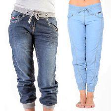 e95fadcddf8bc Ladies Lee Cooper Designer Jeans Denim Casual Fashion Trousers Pants Cuffed  Slim Trouser Pants, Cuffed