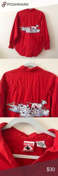 7deeb5023fda13 Vintage Disney Mickey Inc. 101 Dalmatians Top VINTAGE RARE 90 s Mickey Inc  - 101 Dalmatians