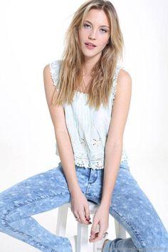 Riffle Jeans primavera verano 2014 moda mujer.