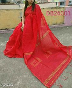 Sarees Alluring Cotton Silk Handloom Saree  *Fabric* Saree - Cotton Silk, Blouse - Cotton Silk  *Size* Saree Length With Running Blouse - 6.3 Mtr  *Work* Handloom  *Sizes Available* Free Size *   Catalog Rating: ★4.1 (485)  Catalog Name: Ciquence Cotton Silk Handloom Sarees Vol 1 CatalogID_116104 C74-SC1004 Code: 825-979582-
