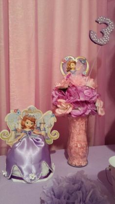 Sofia the First, hand crafted for my granddaughter by Mamma
