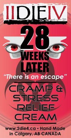 28 Weeks Later Cramp & Stress Relief Cream