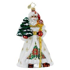 Radko Ornaments Santa Claus Christmas Ornament Old Tyme Tidings