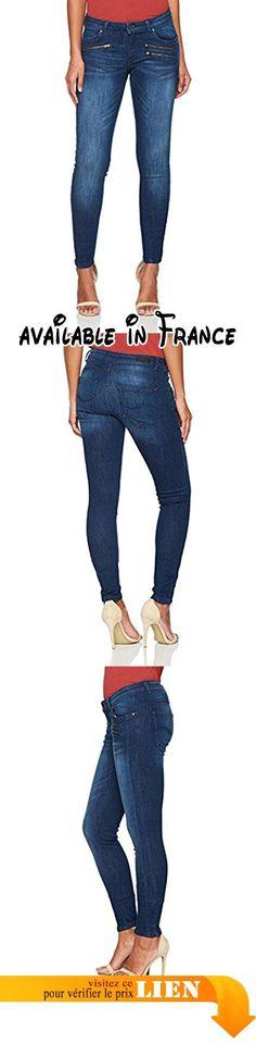 B073ZV45MM : Q/S designed by 45899710468 Jeans Femme Blau (Blue Denim Heavy Stone W 55Z6) W36/L30.