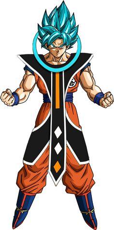 Goku ssj azul angel