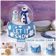 Snow Globe Cake!