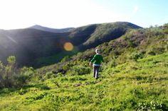 Hiking near Two Trees in Ventura, California.