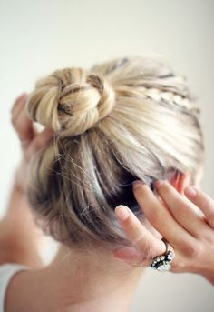 braided #bun
