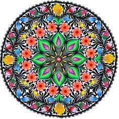 Polish Folk Art Mandala ;)