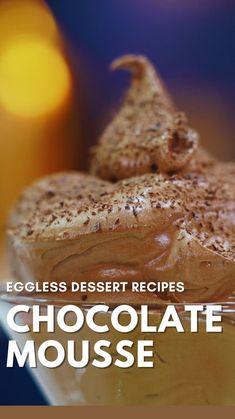 Chocolate Dishes, Chocolate Recipes, Fun Baking Recipes, Snack Recipes, Snacks, Kulfi Recipe, Eggless Desserts, Chocolate Mousse Recipe, Indian Dessert Recipes