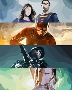 Arrow, flash, supergirl and legends of tomorrow