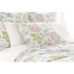 Pink Botanical Duvet Cover from PoshTots