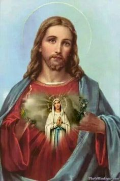 Sacred Heart Quotes The Sacred Heart of Christ is an inexhaustible fountain and its sole desire is to pour itself out into. Jesus And Mary Pictures, Pictures Of Jesus Christ, Mary And Jesus, Jesus Our Savior, Heart Of Jesus, Jesus Is Lord, Jesus Christ Painting, Jesus Photo, Jesus Wallpaper