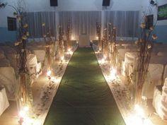 decoração cerimonia casamento galho - Pesquisa Google
