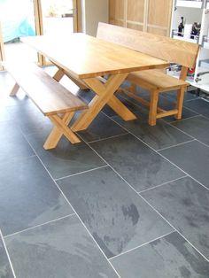 Kitchen Floor On Pinterest Floors Slate And