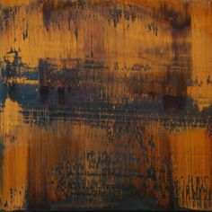 """Koen Lybaert; Oil 2014 Painting """"abstract N° 787 [The Rite of Spring]"""""""