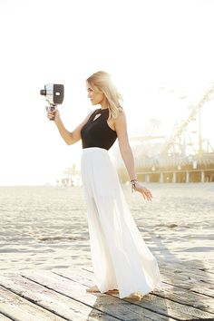 LC Lauren Conrad - maxi dress