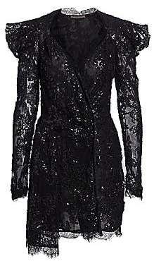 a28d4662741 Amen Women s Embroidery Lace Long Sleeve Dress
