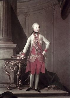 Archduke Ferdinand of Austra-Este. He was the fourth son and fourteenth child of Maria Theresa and Francis I, and was born at Schonbrunn Palace in 1754.