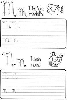 Atividade de caligrafia letras do alfabeto ilustrado - Como Fazer Teaching Strategies, Growth Mindset, Alphabet, Calligraphy, Writing, Reading, Words, School, 1