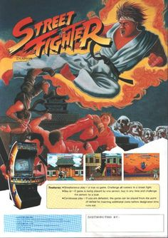 Street Fighter - Arcade Advertisement