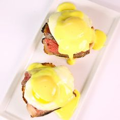 Take two classic breakfast foods and make them pop by combining them in this easy to make dish!