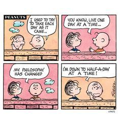 Wednesday with Charlie Brown.