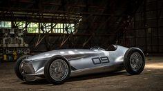 Infiniti Prototype 9 Is An Electric Retro Roadster
