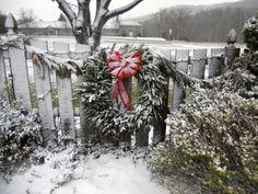 Christmas in Banner Elk, North Carolina.