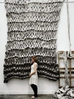 Huge Scale Knitting
